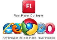Flash Player erforderlich